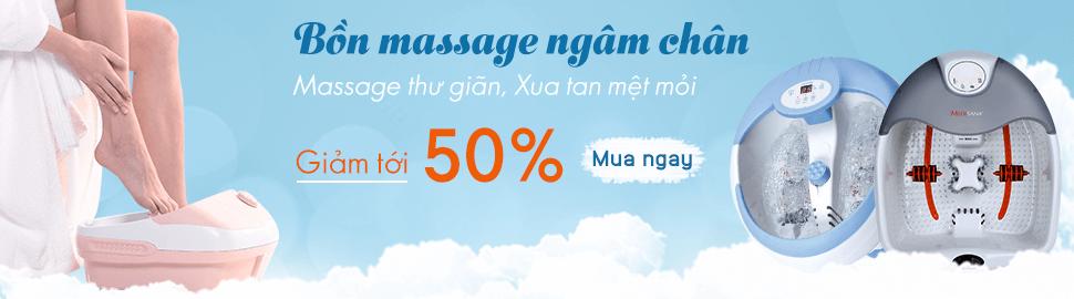 Bon ngam chan Bon massage chan chinh hang gia tot