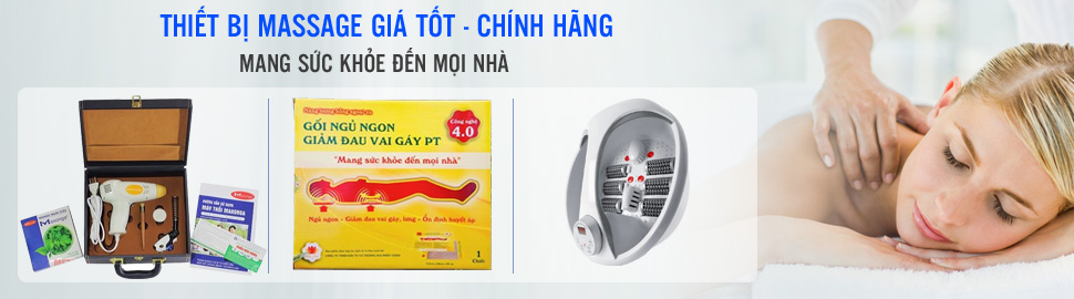 Cham soc co the toan dien cung thiet bi massage chinh hang