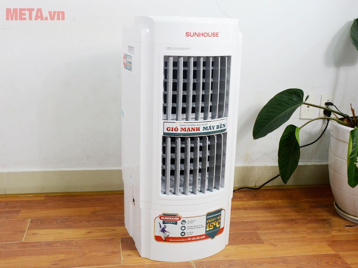 Thiêt kế quạt điều hòa không khí