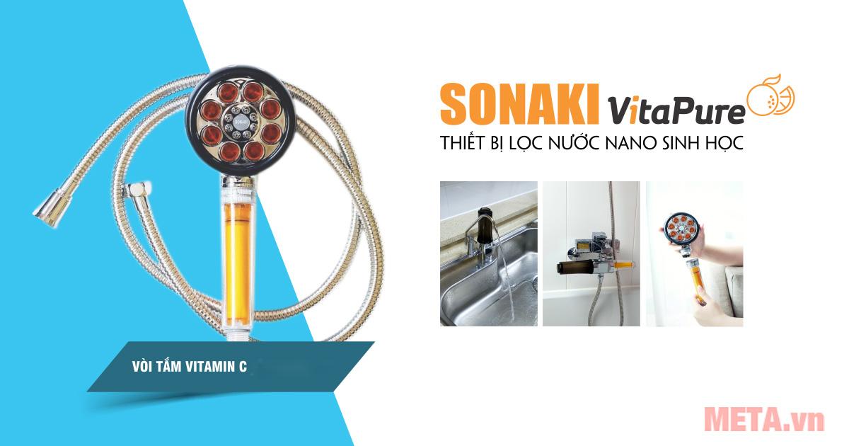 Các sản phẩm lọc nước thương hiệu Sonaki có gì nổi bật?