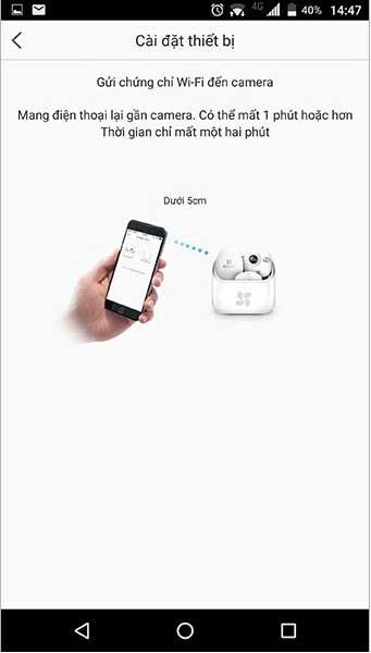 Cách cài đặt kết nối camera trên điện thoại 8