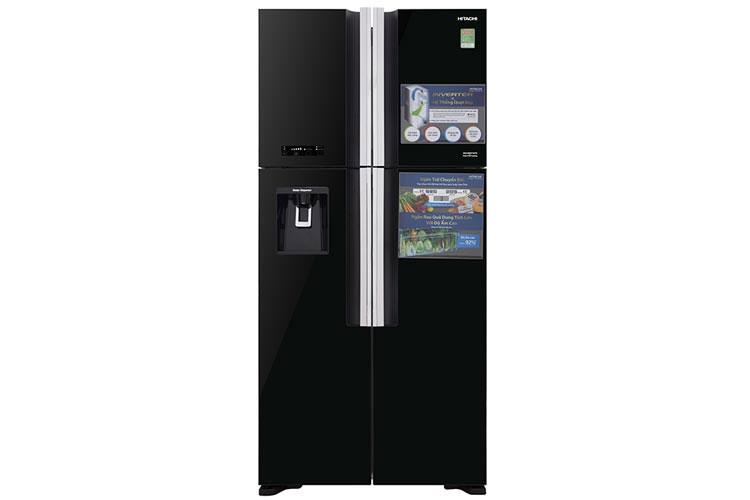 Tủ lạnh side by side Inverter Hitachi R-FW690PGV7 GBK/GBW 540 lít