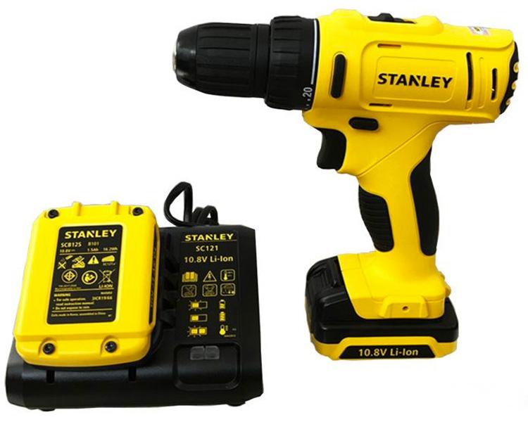 Máy khoan pin Stanley SCD 12S2 10mm - 10,8V
