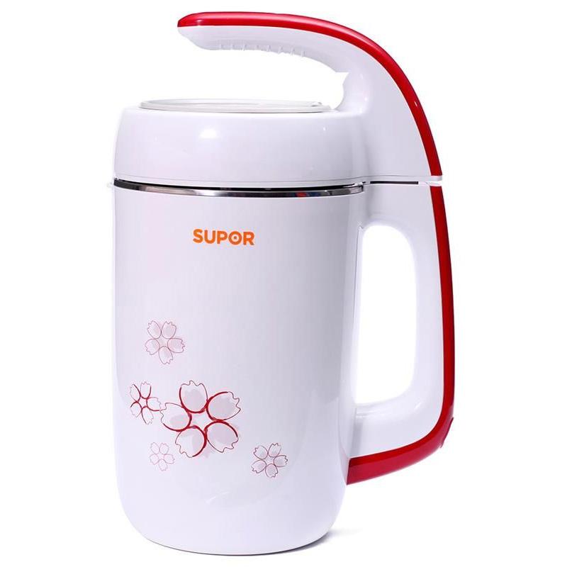 Máy làm sữa đậu nành Supor DJ13B-W62VN có thiết kế trang nhã.
