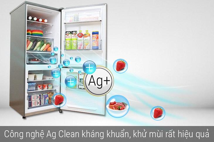 Công nghệ tinh thể bạc Ag Clean