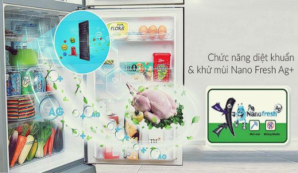 Công nghệ khử mùi Nano Fresh Ag+