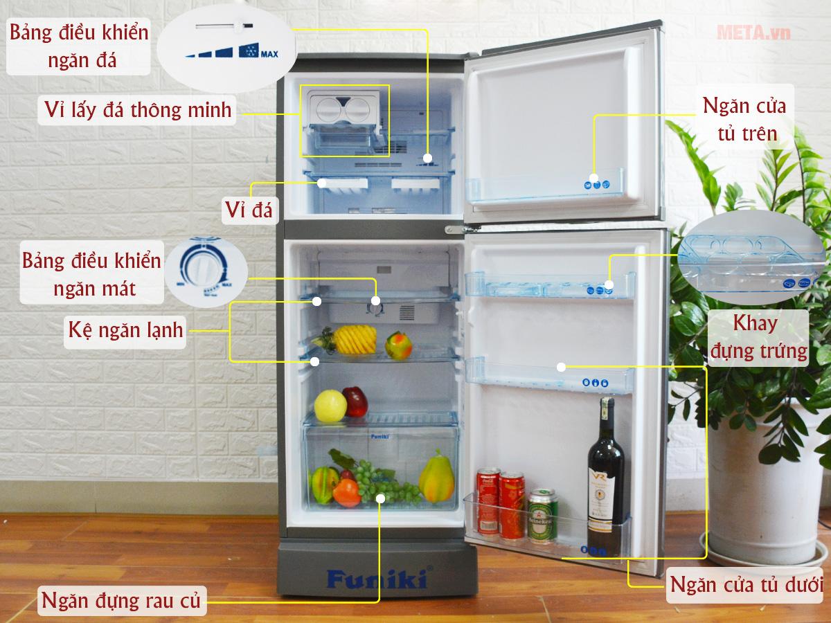 Tủ lạnh Funiki FR-132CI 130 lít