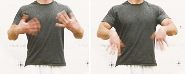 bài tập hội chứng ống cổ tay