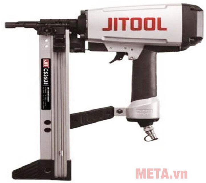 Máy bắn đinh bê tông dùng hơi Jitool CS26-38 có thiết kế nhỏ gọn, trọng lượng nhẹ, dễ cầm tay