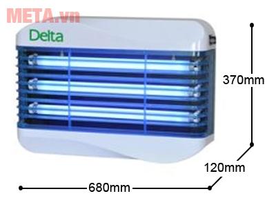 Đèn diệt côn trùng Delta W45 kích thước nhỏ gọn
