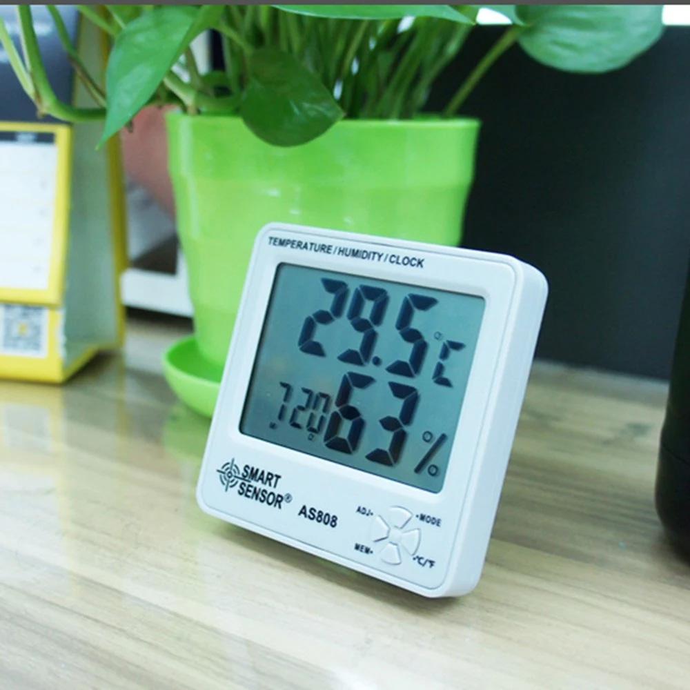 Đồng hồ đo nhiệt độ, độ ẩm Smart Sensor AS808