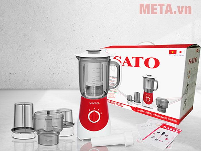Máy xay sinh tố đa năng Sato