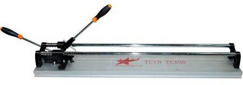 Bàn cắt gạch đẩy tay TCVN-TC800 giúp định hình đường cắt chính xác, cho đường cắt cực thẳng