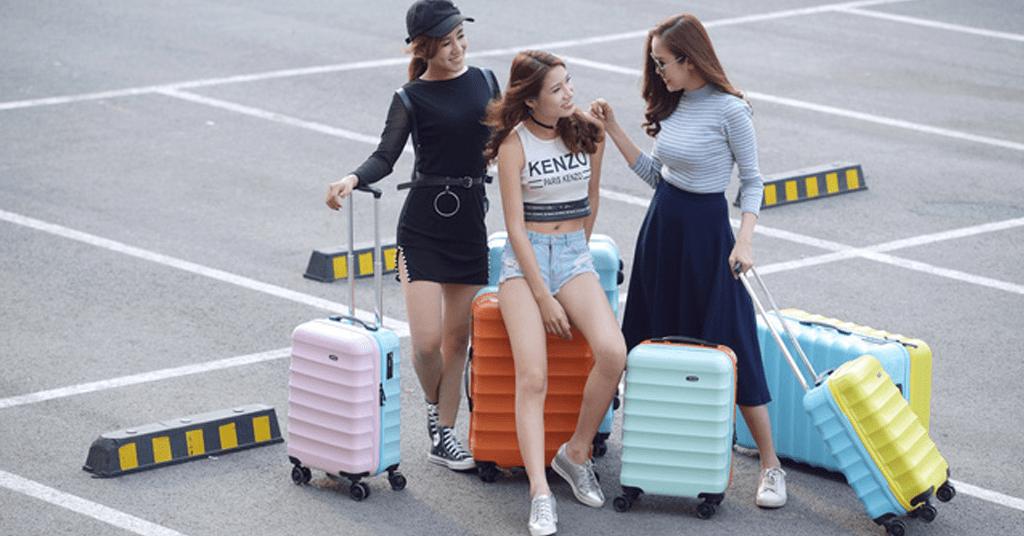 Kinh nghiệm mua vali kéo giá rẻ Hà Nội, TPHCM