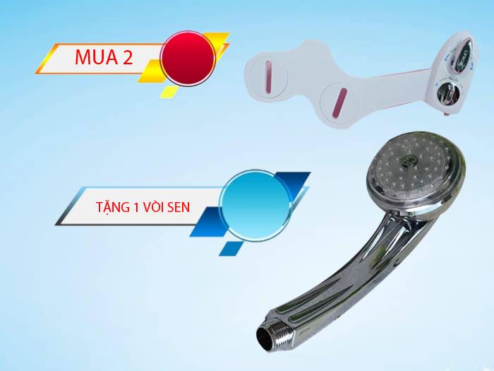 Tặng vòi sen khi mua 2 thiết bị vệ sinh LIFMOD Bidet