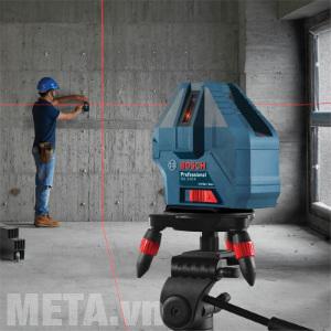 Máy quét tia laser Bosch có thể sử dụng trong nhà, ngoài trời vô cùng tiện lợi.