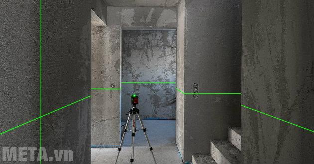 Máy cân bằng laser không thể thiết trong các công việc xây dựng, thiết kế và thi công nội thất.
