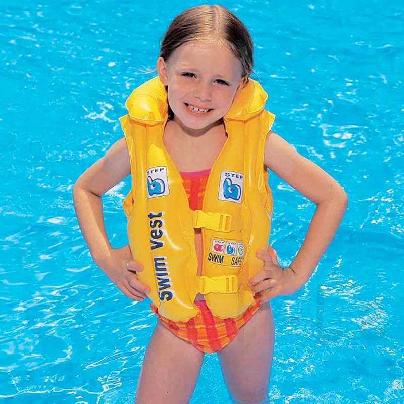 Phao bơi, áo phao cho bé từ 4 tuổi