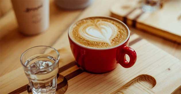 Cách pha cafe Latte