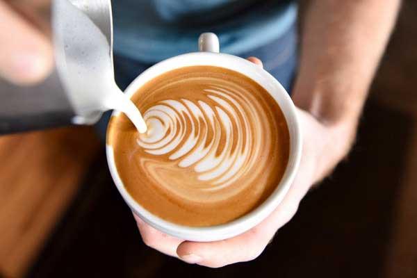 Cách làm cafe Latte