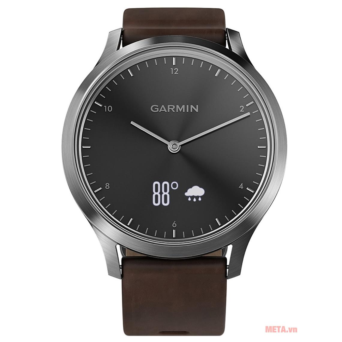 Đồng hồ Garmin vivomove HR (Premium edition) có khả năng chống nước chuẩn đi bơi