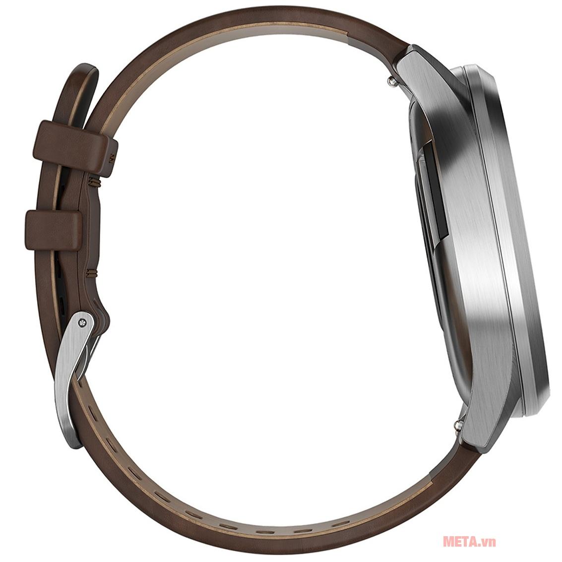 Đồng hồ Garmin vivomove HR (Premium edition) có dây đeo cao cấp, thời trang