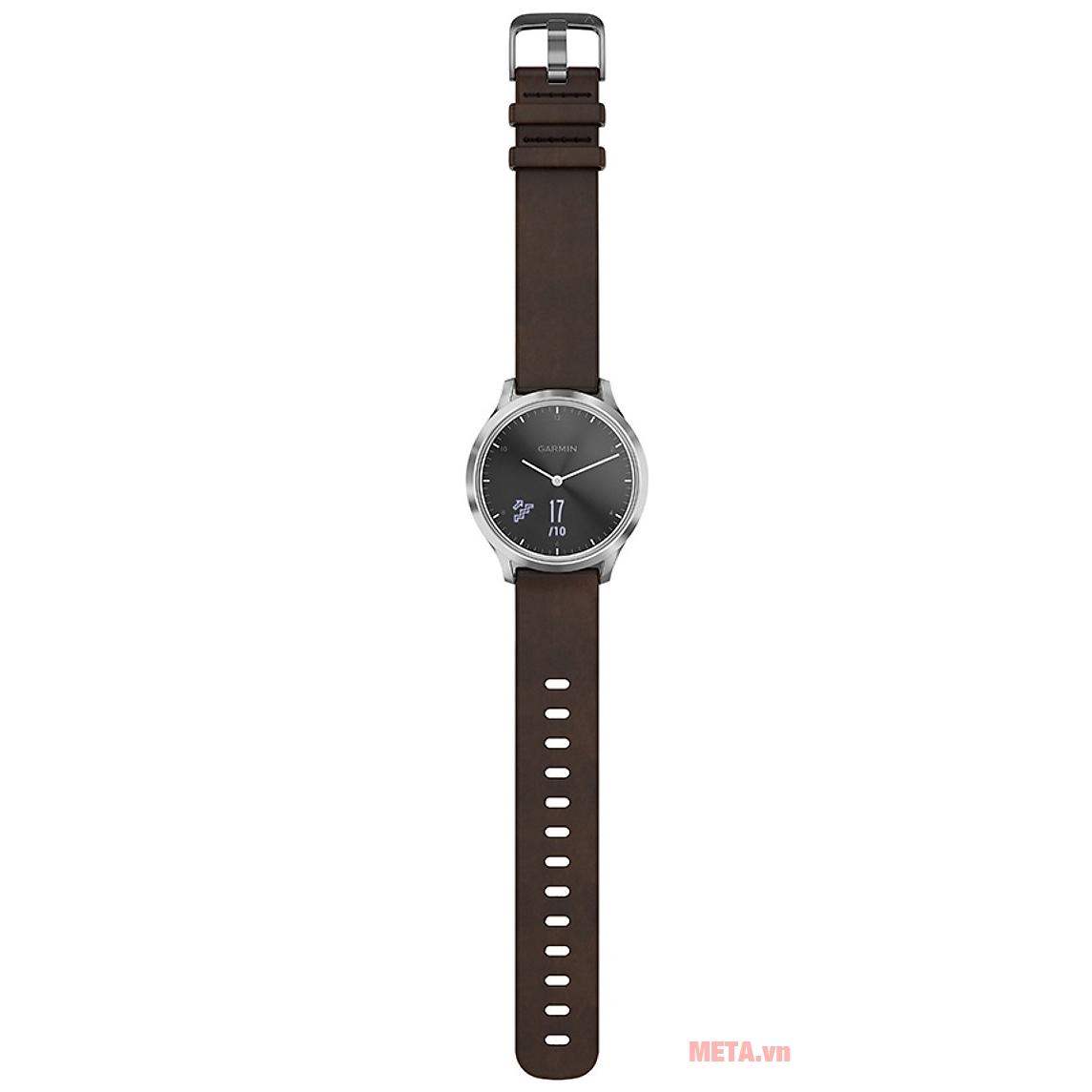 Đồng hồ Garmin vivomove HR (Premium edition) có dung lượng pin lên đến 2 tuần ở chế độ thường