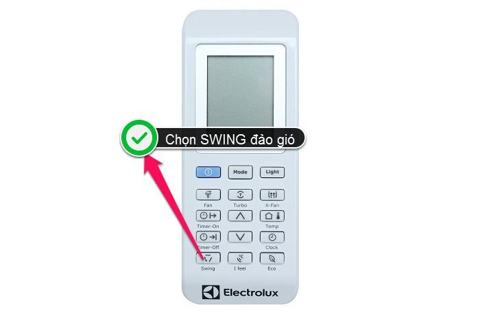 cách sử dụng điều khiển điều hòa Electrolux