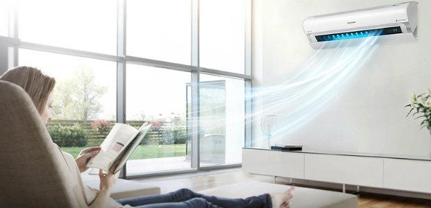 Máy lạnh treo tường là máy lạnh 2 cục được sử dụng rộng rãi.
