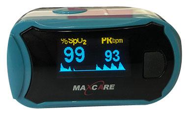 Máy đo nhịp tim và nồng độ oxy Maxcare
