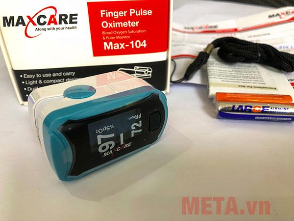 Máy đo nhịp tim và nồng độ oxy