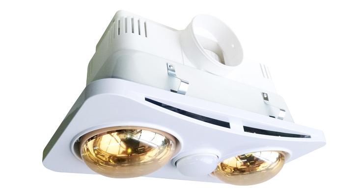 Đèn sưởi nhà tắm Braun Kohn BK02G