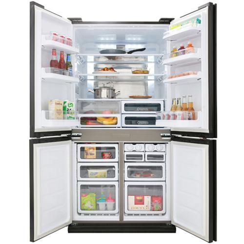 Tủ lạnh Sharp J-Tech Inverter SJ-FX688VG 678 lít