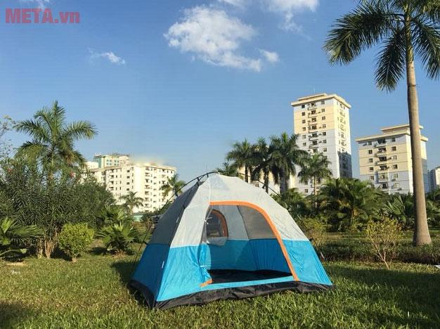 Sử dụng lều trại dễ dàng