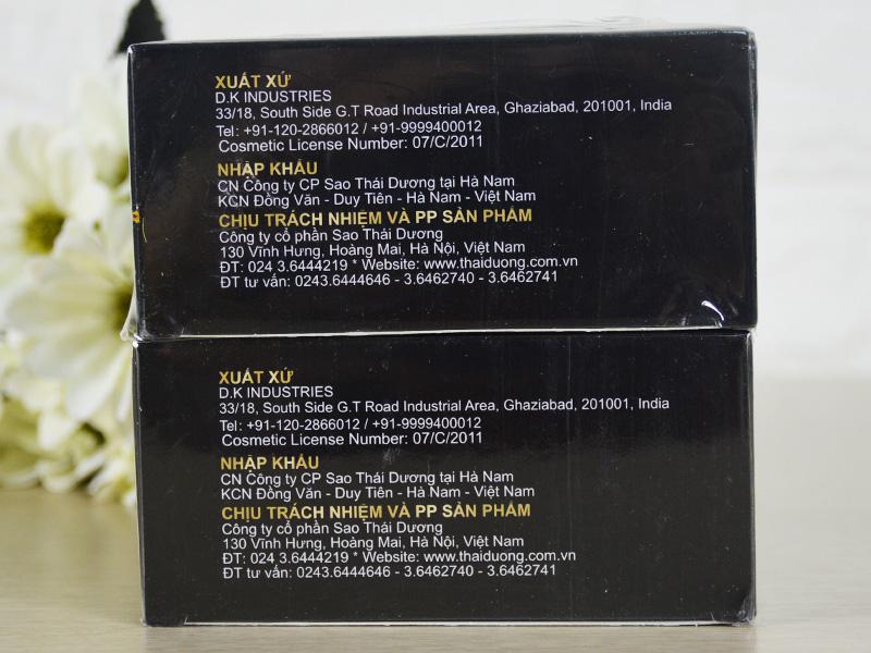 Combo 2 hộp nhuộm tóc dược liệu Thái Dương