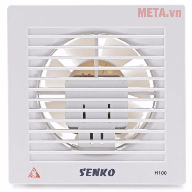 Quạt hút gió âm tường Senko H100