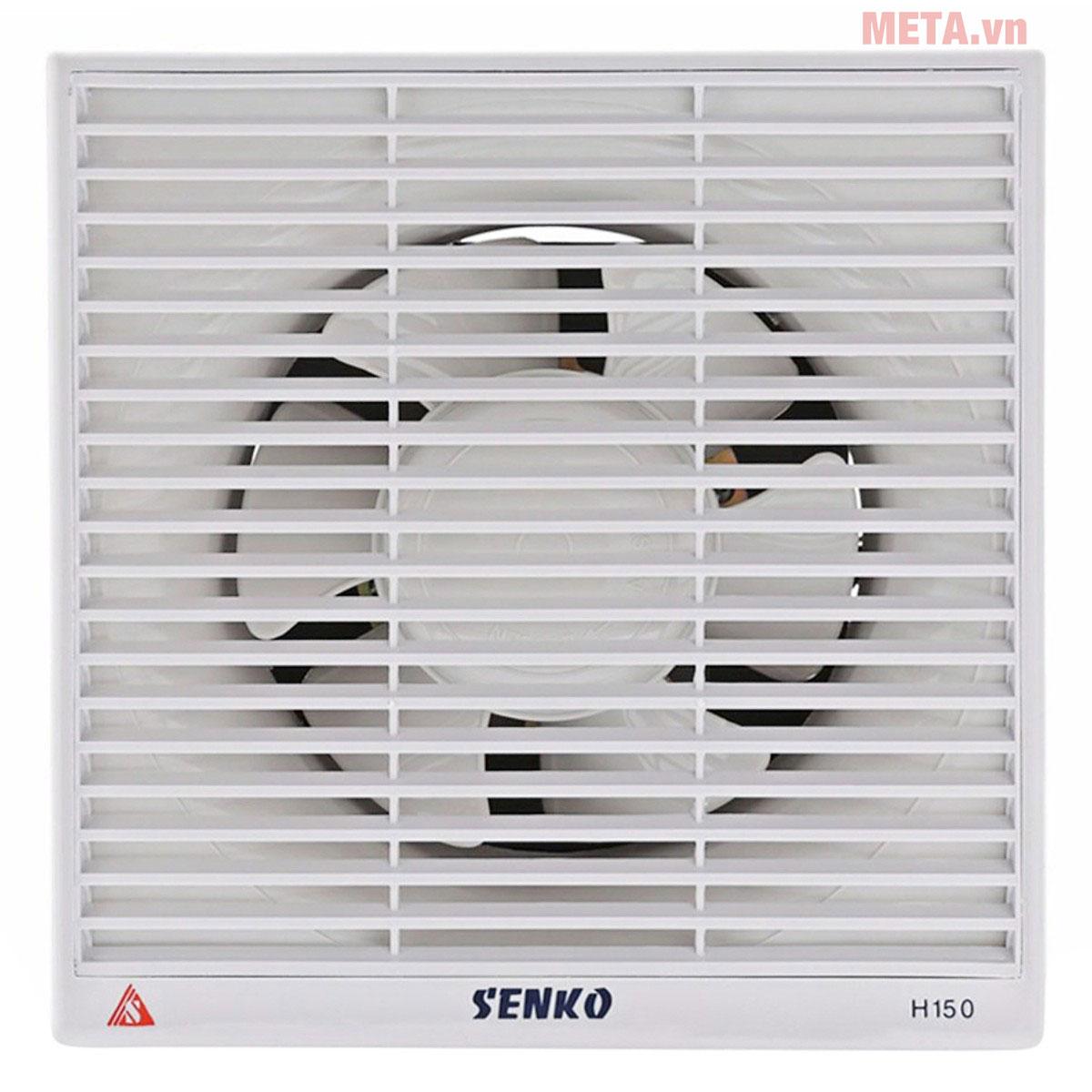 Quạt hút gió âm tường Senko H150