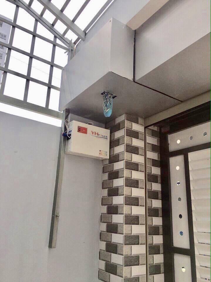 cách đóng mở cửa cuốn khi mất điện