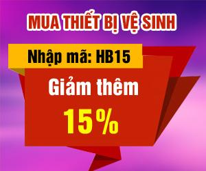 Giảm thêm 15% khi mua thiết bị sinh thông minh Hyundae Bidet