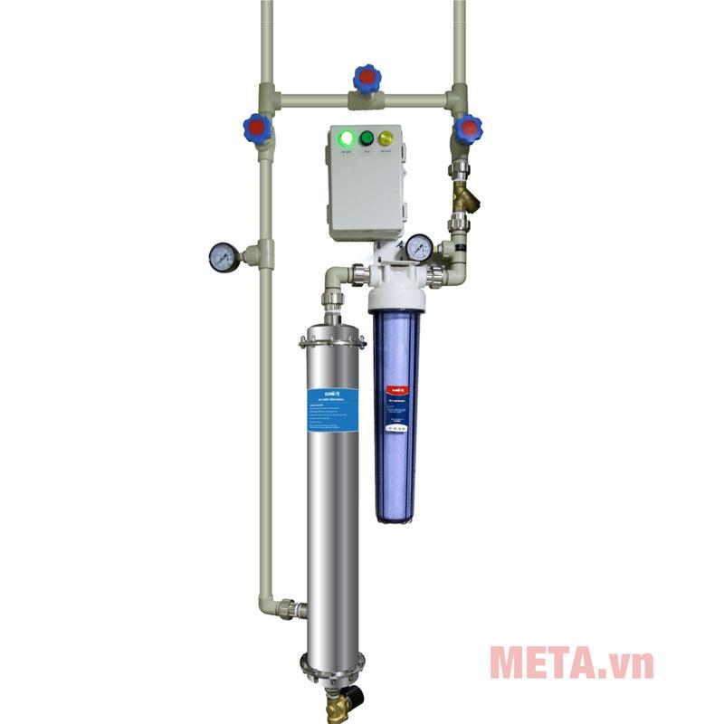 hệ thống lọc nước tổng eurofil2.5-4m3/h