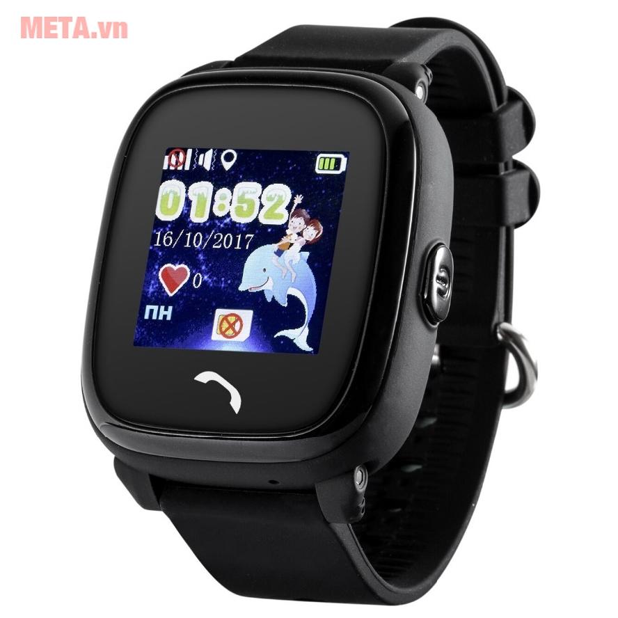 Đồng hồ định vị màu đen