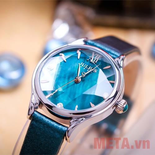 Đồng hồ dây da Hàn Quốc