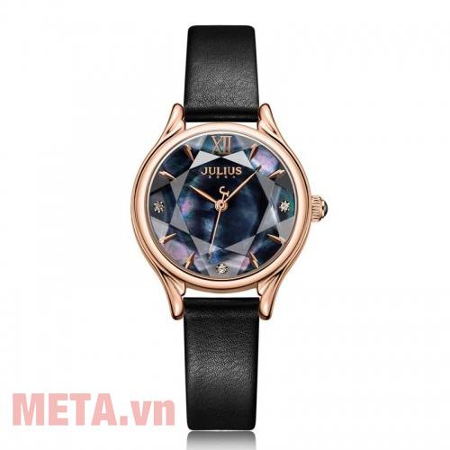 Đồng hồ nữ dây da Hàn Quốc