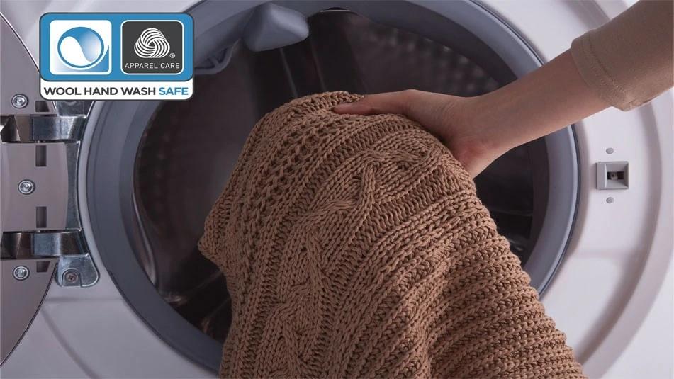 Giặt được cả đồ len