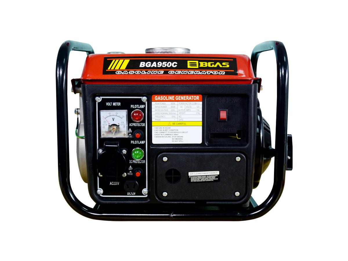 Máy phát điện chạy xăng Bgas BGA950B (BGA950C) 0,8KVA