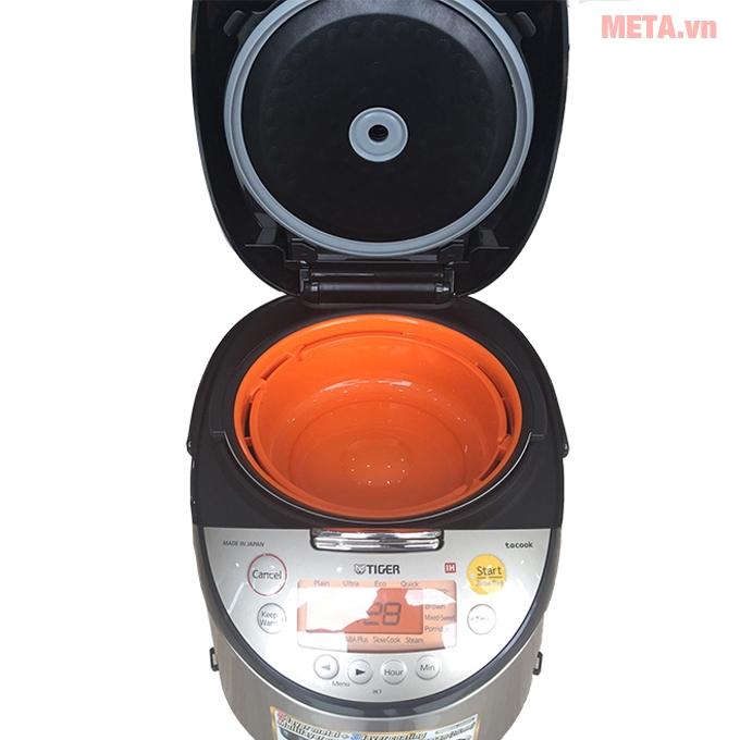 Cấu tạo nồi cơm điện tử cao tần Tiger JKT-S18W 1.8 lít
