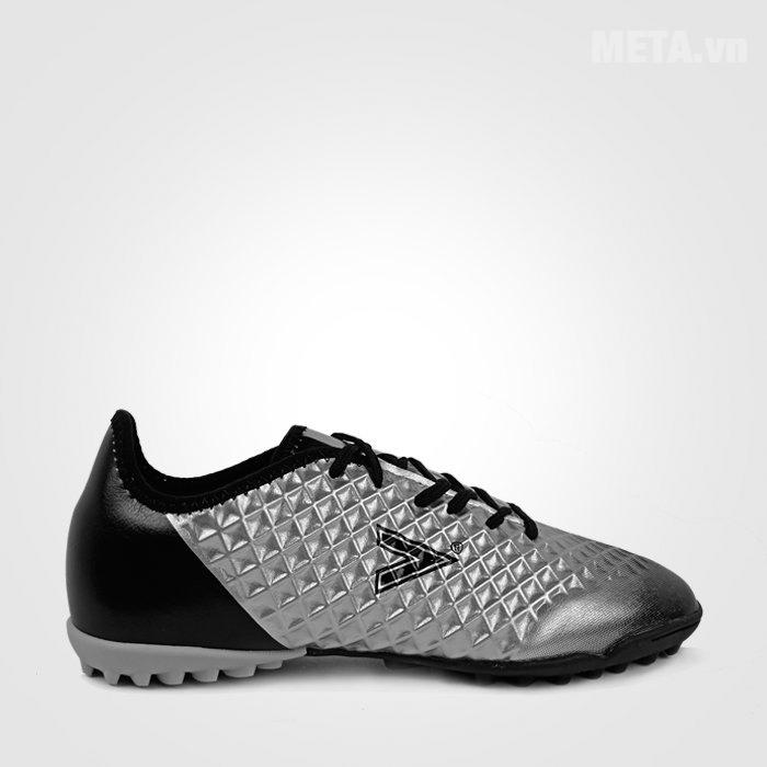 Giày đá bóng Mitre 180204B Black/Siliver