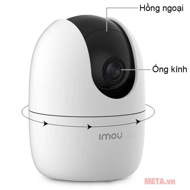 Cấu tạo camera wifi 2.0MP Imou IPC-A22EP