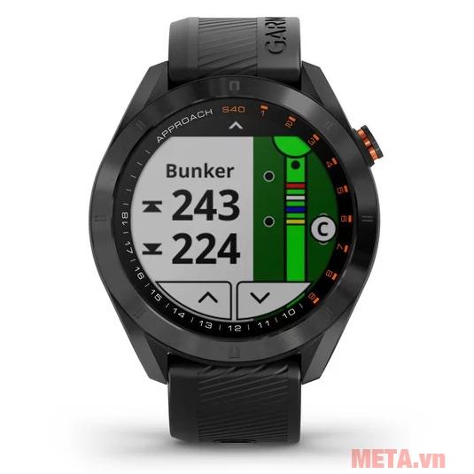 Đồng hồ thông minh hỗ trợ chơi golf