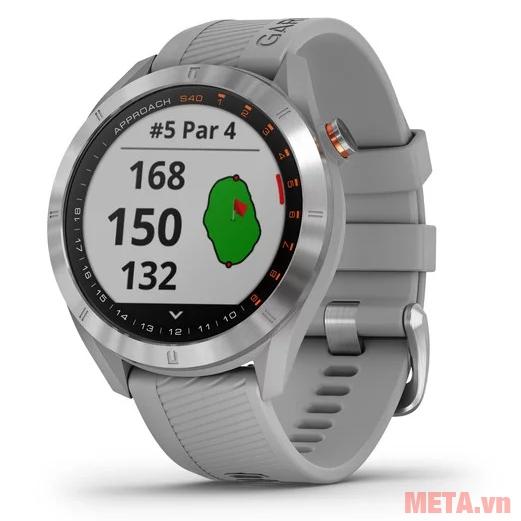 Đồng hồ thông minh hỗ trợ GPS chơi Golf Garmin Approach S40